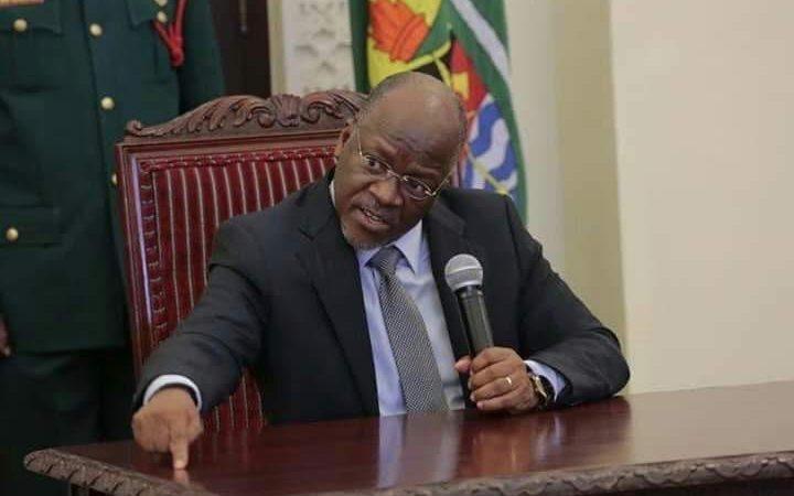 Presiden CERDAS,, MENGUJI ALAT TEST CORONA ala TANZANIA