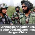 Ketegangan antara China dan India terus memanas
