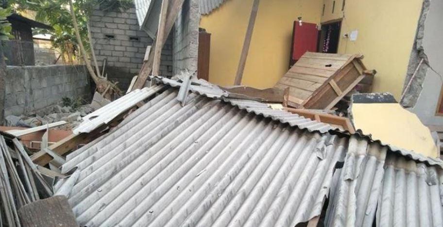 128 Rumah rusak akibat gempa Maluku Utara