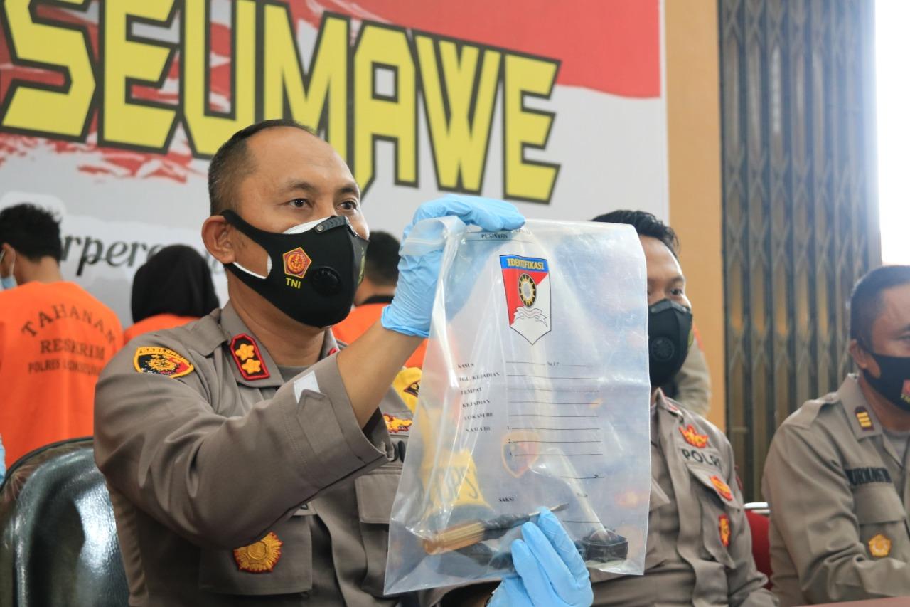 Polres Lhokseumawe Tangkap DPO Kasus Narkotika Polda Kepri