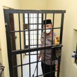 Pantau Ruang Tahanan, Kapolres Lhokseumawe Cek Kesiapan Kinerja Polsek Samudera