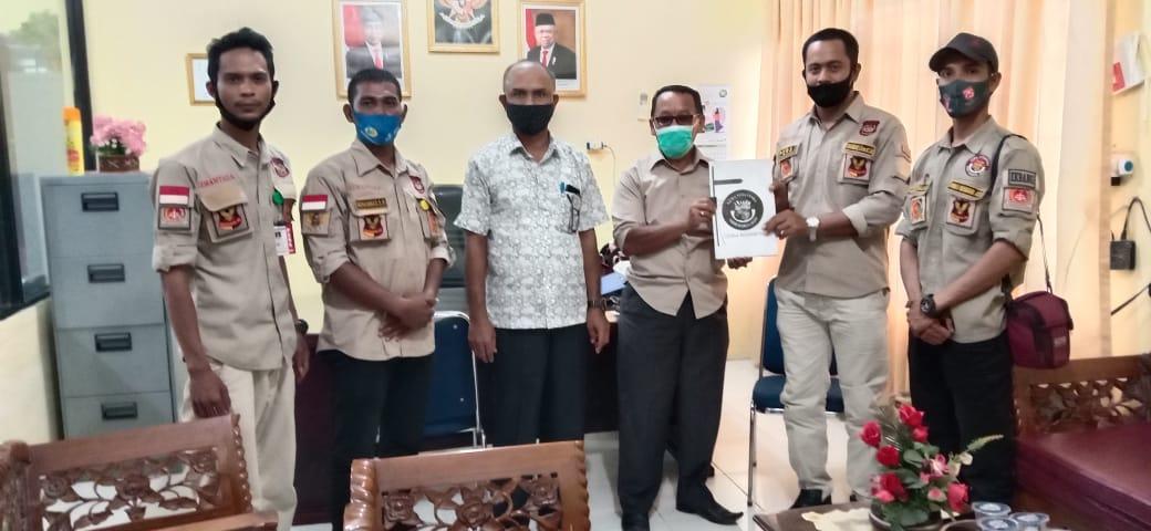 Gemantara Eksekutif Cabang Aceh Utara Audiensi Dengan Kesbangpol.