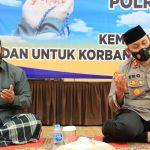 Polres Lhokseumawe Gelar Doa Bersama untuk Korban Sriwijaya Air SJ 182.