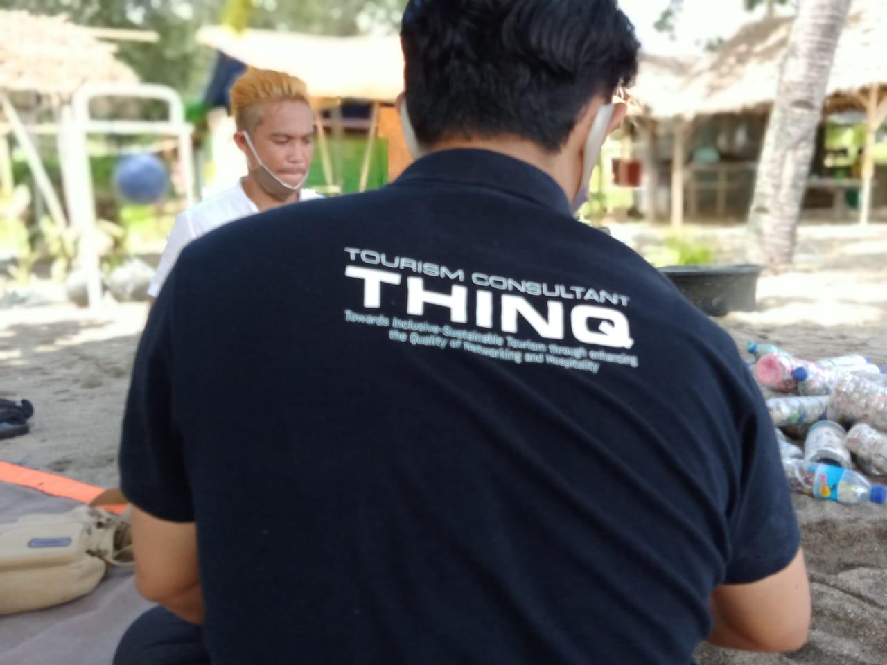 Tourism Consultant THINQ Gelar Latihan Pengelolaan Sampah Kepada POKMASWAS KLU.