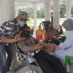 """"""" Chief Police Traffic Department of Langsa City, Did Blood Donation"""""""