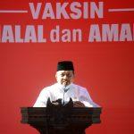 Wakil Walikota Langsa, Marzuki Hamid Canangkan Vaksinasi Covid-19