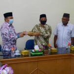 Kunjungan Kepala Baitulmal dan Wakil Walikota disambut oleh Rektor IAIN Langsa Dr. H. Basri, MA., Wakil