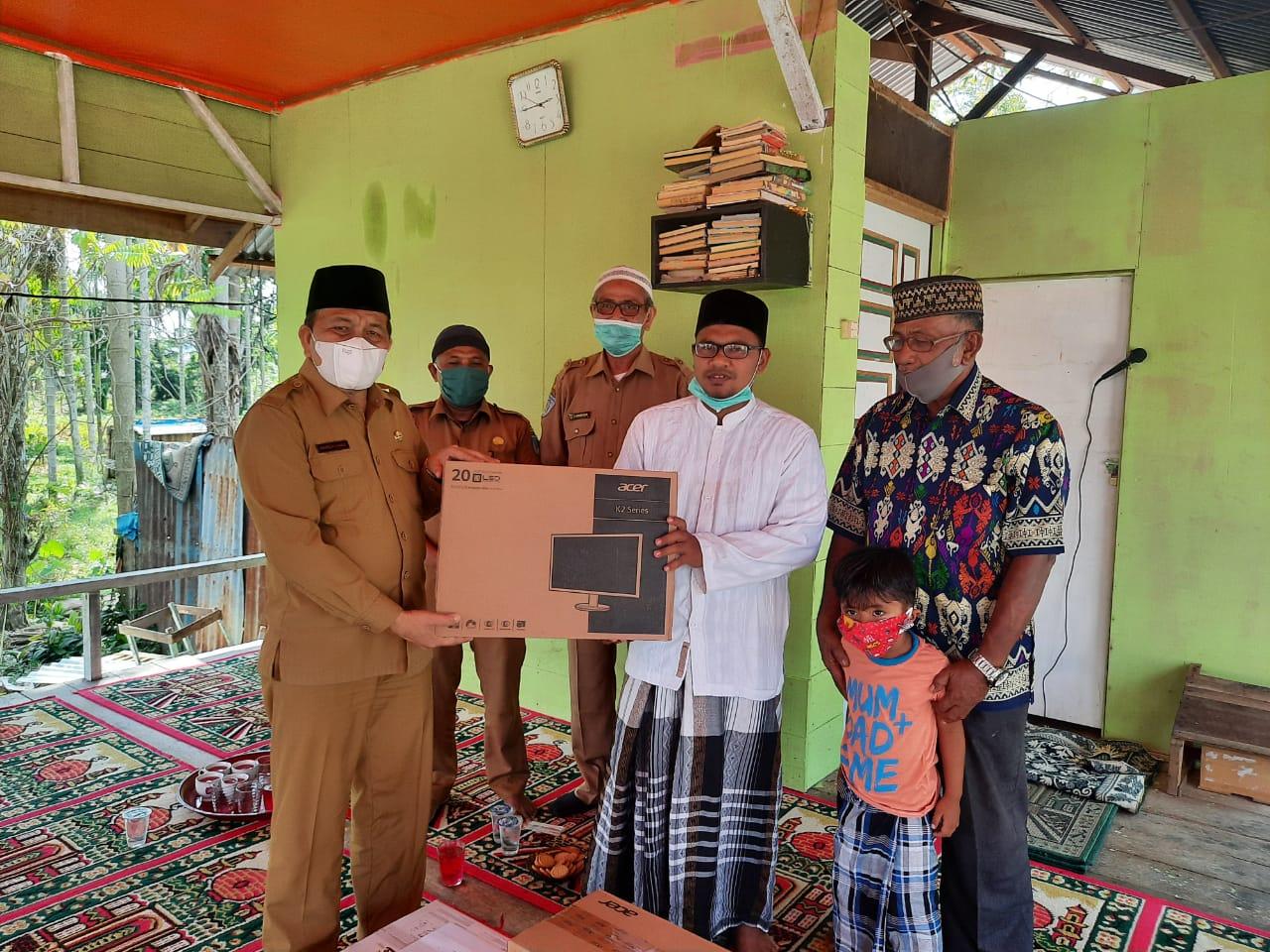 Wakil Walikota Sambangi Dayah Sirajul Huda
