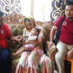Haji Uma dan YARA Bantu Aqila, Balita Penderita Gizi Buruk Asal Aceh Utara