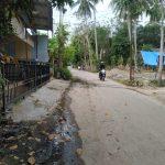 Jalan Dusun Menuju Enam Sekolah Digenangi Limbah, Diharapkan Perhatian Pemerintah Gampong