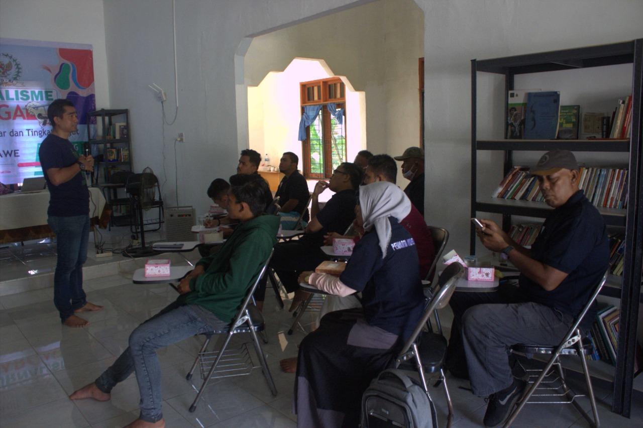 PPWI Lhokseumawe Gelar Pelatihan Jurnalistik Tingkat Lanjut