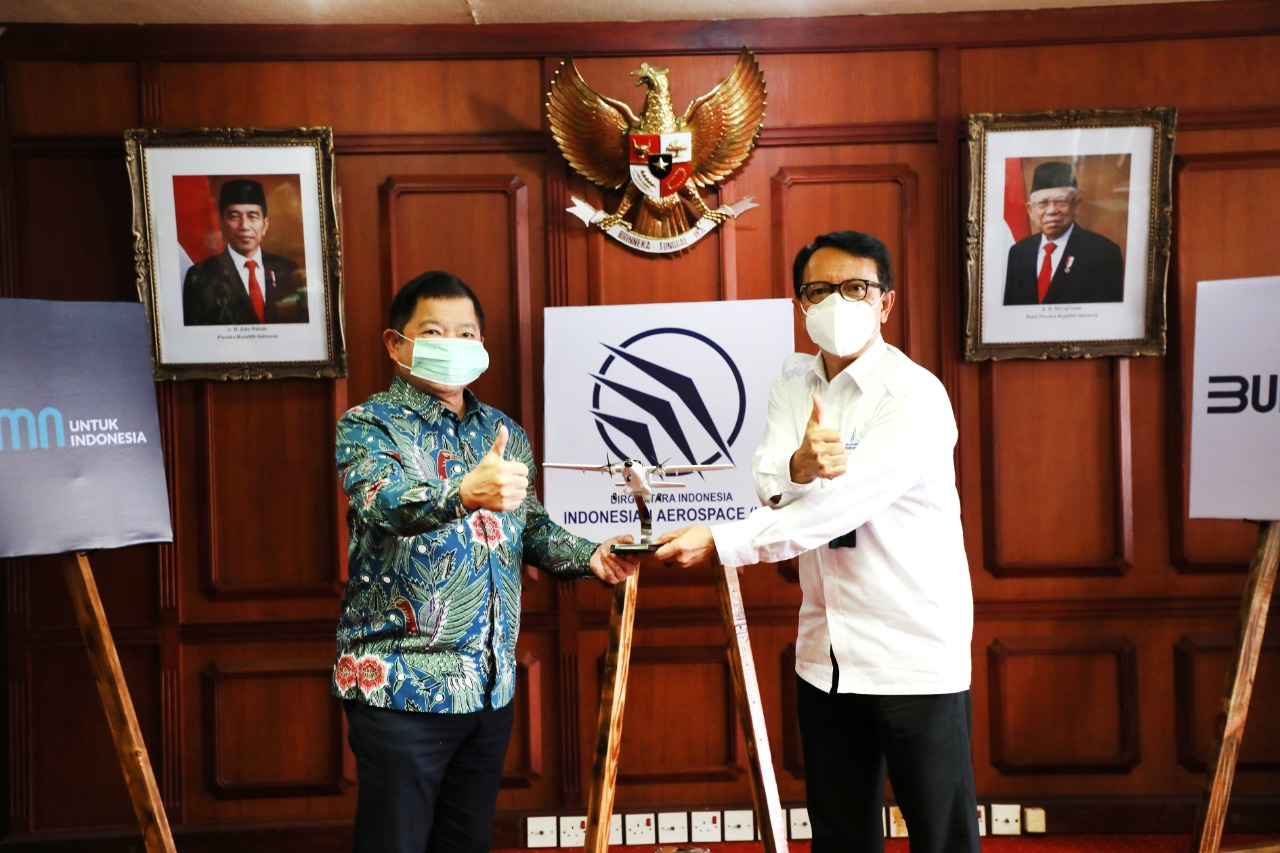 Head of Bappenas Conducts a Working Visit to PTDI*
