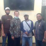 Pengurus DPC PWRI Kota Langsa silaturahmi dengan Plt.Kepala Dinas Komunikasi dan Informatika Kota Langsa M.Husin,S.Sos.MM, Kamis 18-03-2021.
