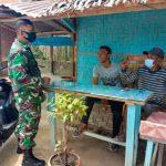 Komsos, Ajang Babinsa Perkokoh Kemanunggalan TNI Dengan Rakyat