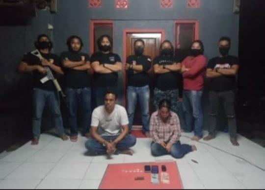 Laki laki Dan Wanita Miliki Sabu Berinisial AK Dan HA Ditangkap Tim Puma Satuan Reskrim Polresta Bima