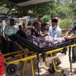 64 Orang Warga Kecamatan Banda Alam Diduga Keracunan Gas, 2 Orang Diantaranya Masih Dirawat Di Ruang ICU RSUD dr. Zubir Mahmud.