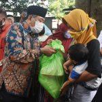 Bupati dan Wabup Lombok Utara Kunjungi Korban Banjir Setangi
