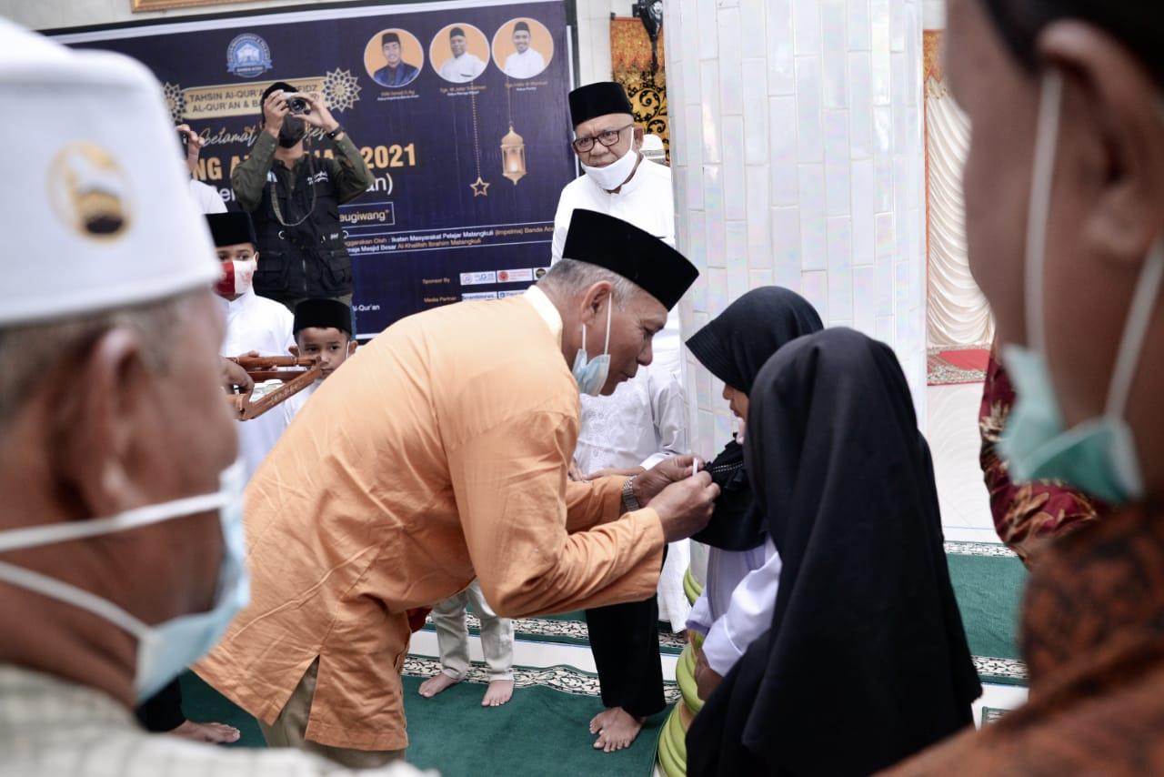 Program Kampoeng Al-Qur'an 2021, Resmi Dibuka Wakil Bupati Aceh Utara