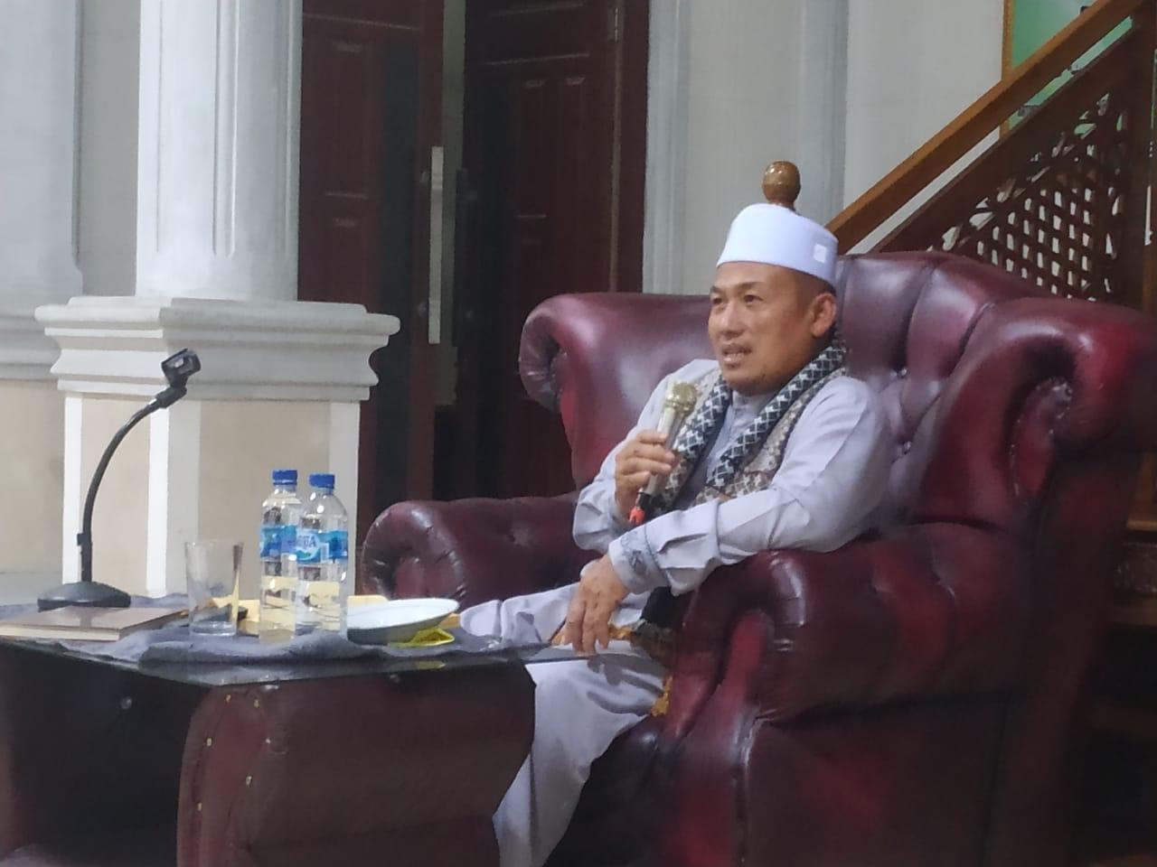 Pengajian Umum TasTaFi (Tasauh Tauhid Fiqih) Oleh Abati di Masjid Raudatul Jannah.