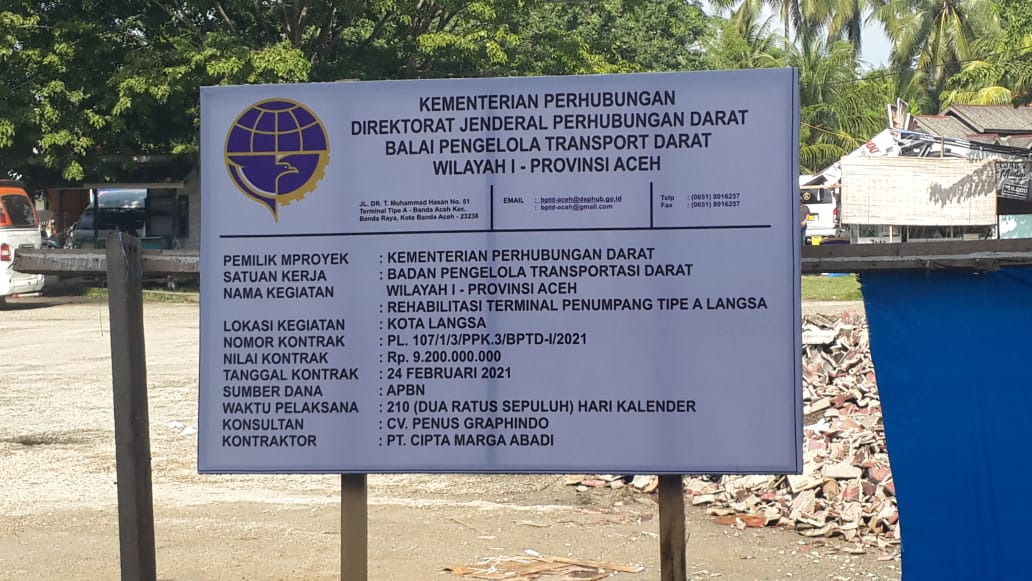 PT. Cipta Marga Abadi Requested To Comply With Standard Operational Procedure (SOP).