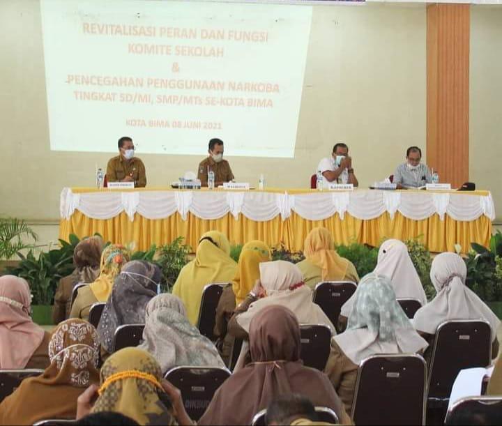 HML : Pendidikan Berkarakter Terus Digaungkan, Saat Membuka Kegiatan Komite Sekolah