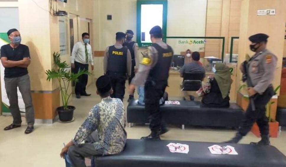 Kasat Sabhara Polres Aceh Timur Pimpinan Langsung Patroli Dialogis