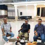 Dae Pawan Silaturahmi Bersama HML,Bahas Musda Golkar Kota Bima.