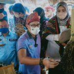 Ditemani Atta Halilintar,Sandiaga Uno Kunjungi Desa Wisata di Bima