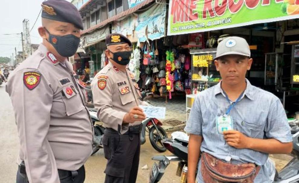 Sat Sabhara Patroli Cegah Aksi Kriminalitas Di wilayah Hukum Polres Aceh Timur