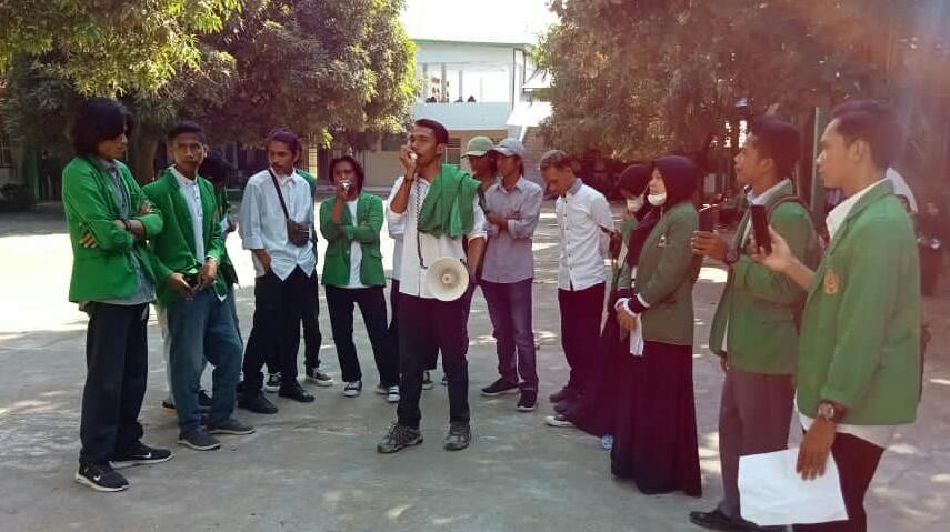 Tuntut Transparansi, Aliansi Mahasiswa Menggugat Demo Kampus STIH Muhammadiyah Bima