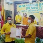 Dae Pawan Kembali Pimpin DPD II Partai Golkar Kota Bima.