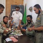 Sat PolPP Kota Bima Bantu Galang Dana dan Open Donasi Untuk Korban Selamat Dalam Kecelakaan Maut kemarin