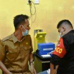Warga Antusias Melakukan Vaksinasi COVID-19 Di Polres Aceh Timur