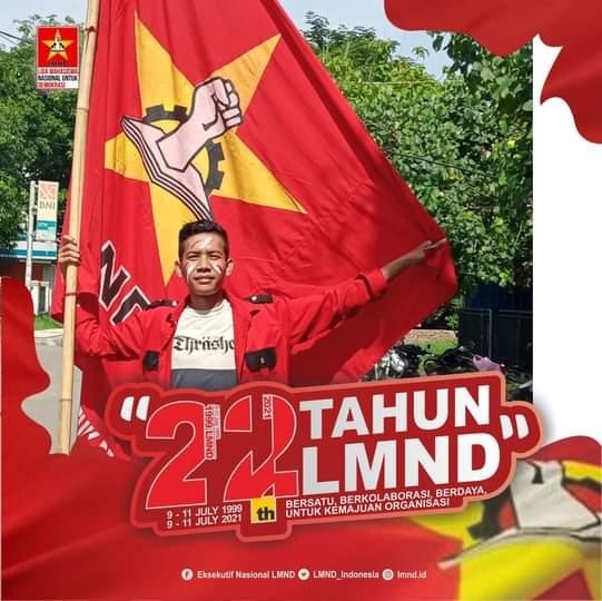 Bambang Hidayat Selaku Ketua Eks LMND Kota Bima Mengajak Seluruh Kader Untuk Konsisten Dalam Memperjuangkan Hak Rakyat.