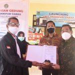 Bupati Bersama Wabup Launching UTD RSUD KLU