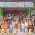 Kantor Sekretariat BAPERA PK Langsa Timur Sukses Diresmikan, Sejumlah Anak Yatim Disantuni