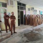 Apel Rutin Dinkes Aceh Timur Diwarnai Gerimis Hujan