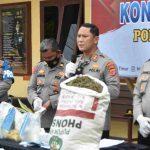 Polisi Bongkar Sindikat Narkoba Aceh - Bali, Penyandang Disabilitas Diamankan Bersama Barang Bukti