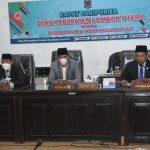 *Bupati Lombok Utara Sampaikan Nota Keuangan APBDP 2021*