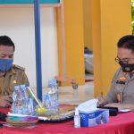 Wabup Lombok Utara Bersama Kapolda dan Danrem 162 WB Pantau Vaksinasi Serentak.