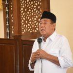 Jumatan di Masjid Husnul Khotimah, Djohan Ajak Jamaah Sabar Hadapi Bencana