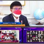 Bupati Rocky Membuka Kegiatan Webinar Indonesia Makin Cakap Digital