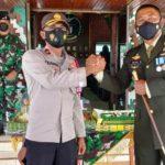 Kodim 0104/Aceh Timur Mendapat Kejutan Dalam Peringatan Ulang Tahun Yang Ke - 76